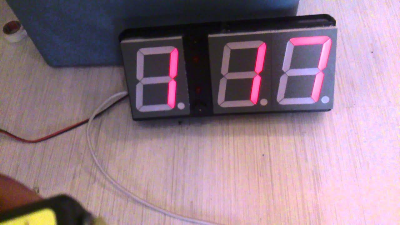 Big arduino countdown timer youtube