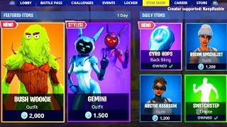 'NOUVEAU' Fortnite Item Shop 6 mai 2019! Nouveau Forntite Battle Royale Item Shop Skins!