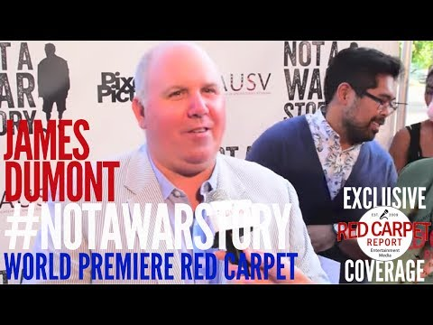 James Dumont ed at the World Premiere of