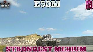 wOT Blitz – E 50 M vs Leopard 1. Жесткое немецкое противостояние.