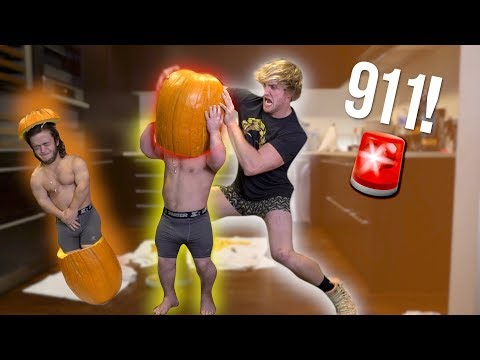 Thumbnail: DWARF MAMBA GETS STUCK INSIDE A PUMPKIN!