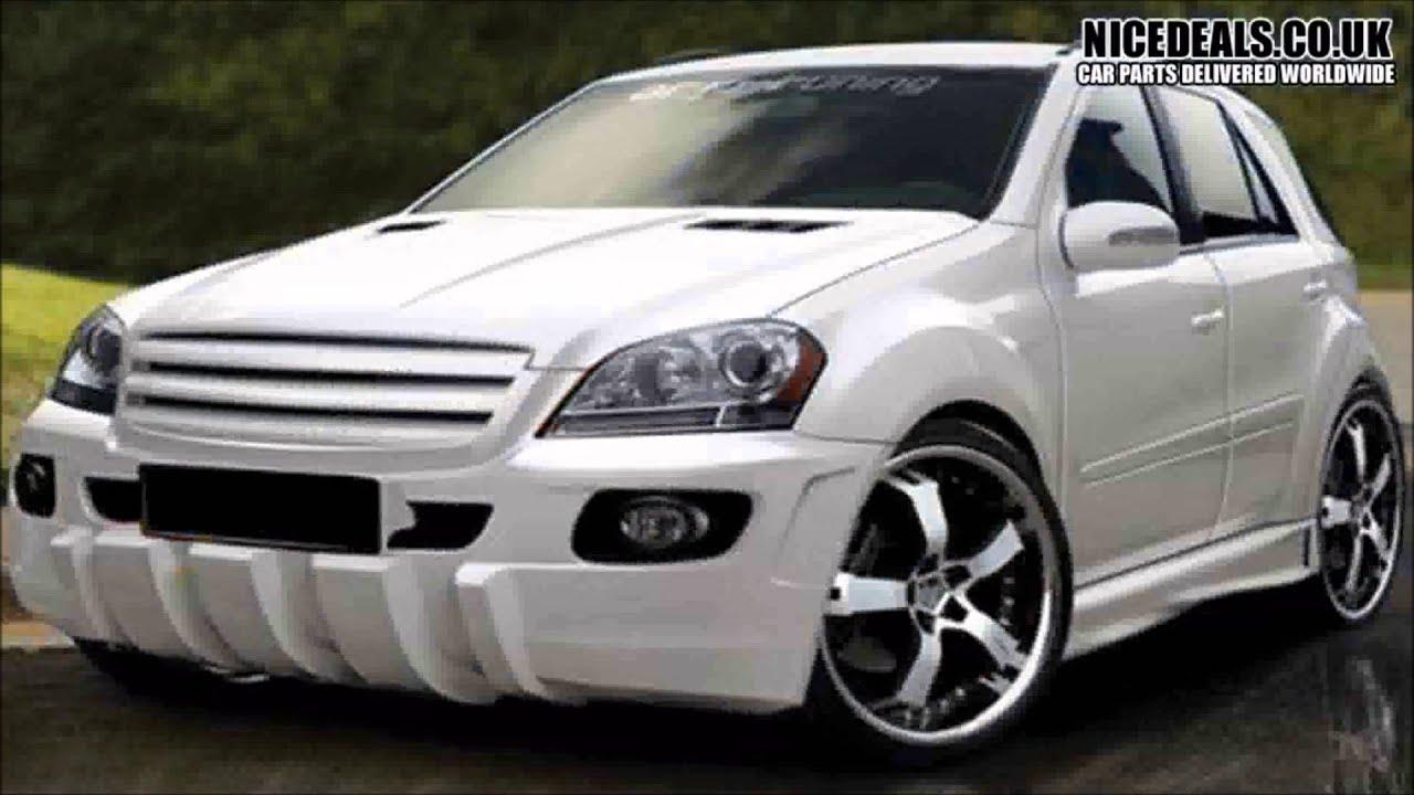 Mercedes Ml Body Kits Sports Bumpers Wings Fenders