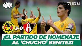 ¡Hasta el cielo! El partido de homenaje al 'Chucho' Benítez | América 3-0 Atlas - AP2013 | TUDN