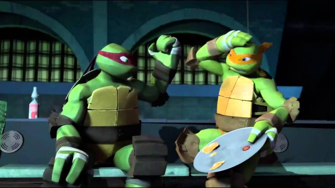 Download MV Mikey Raph - It's Tricky  TMNT 2015