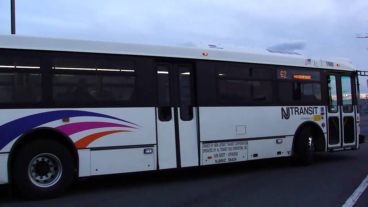 New Jersey Transit : NABI 416.15 (40 SFW) 5592 On The 62 @ Jersey Gardens /  IKEA   YouTube