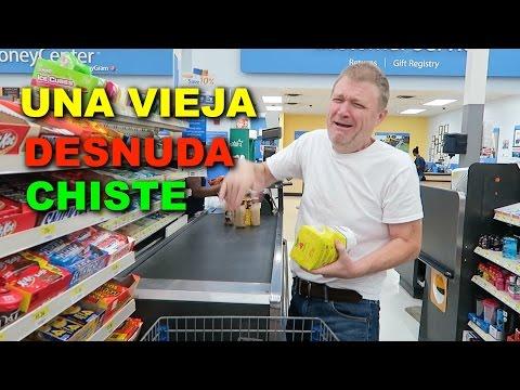 CHISTE DE UNA VIEJA DESNUDA