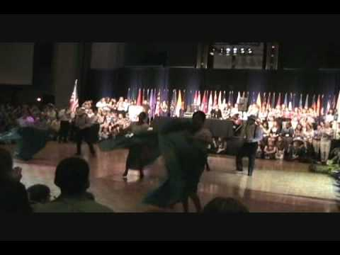 National 4-H Congress: Puertorican Delagation Dance