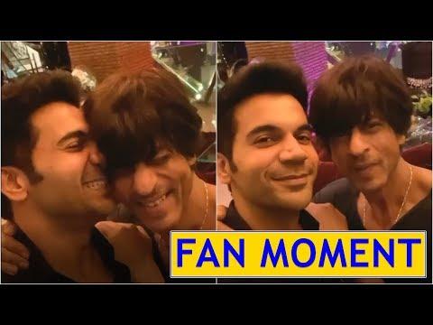 Rajkummar Rao's fanboy moment with SRK is relatable! Mp3