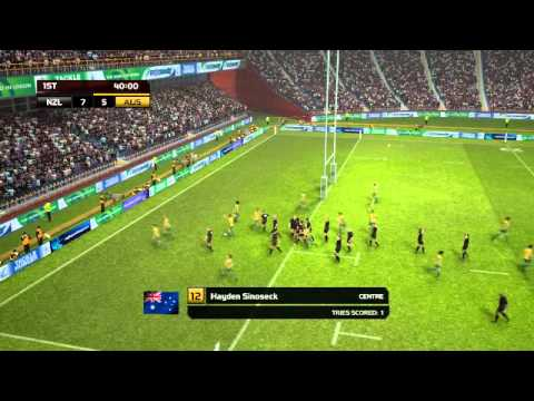 Let's Play Rugby World Cup 2011 4  'NEW ZEALAND FIGHTS IN PACIFIC SKIES!'