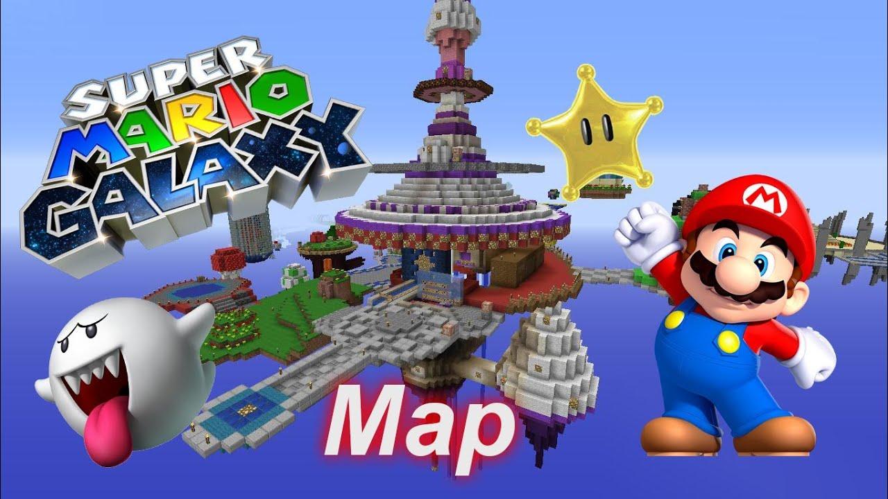 Minecraft Super Mario Galaxy Map (Free Download)