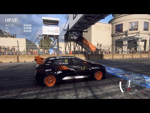 DiRT Rally 2.0 - 2018 Renault Sport Megane RS RX - Car Show Speed Jump Crash Test . 1440p 60fps.