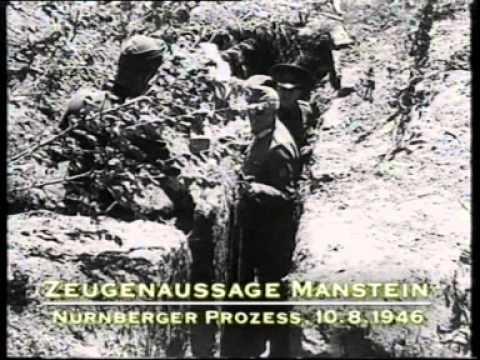 Hitlers Krieger: Erich von Manstein.