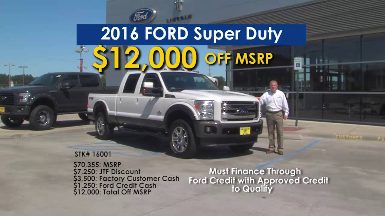 Jim Taylor Ford >> Jim Taylor Ford Smart Bonus Sale May 2016 Youtube