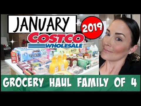 💥MEAL PLAN + BUDGET SHOP WITH ME WITH PRICES ● JANUARY 2019 COSTCO MONTHLY GROCERY + KETO HAUL
