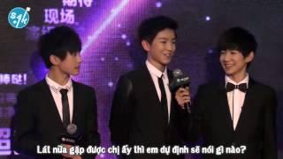 ❦S4K❦[Vietsub] TFBOYS kiêu hãnh trên thảm đỏ Liên hoan phim Tencent Video thumbnail