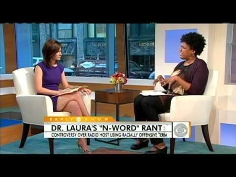 """Nancy Giles' on Dr. Laura """"N-Word"""" Rant"""