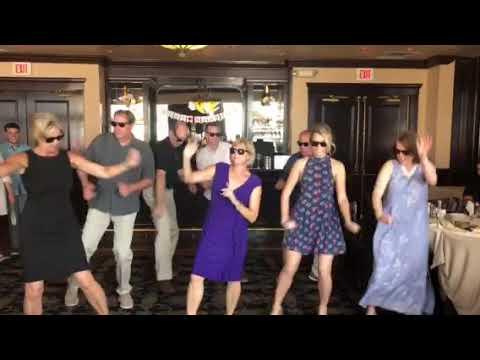 Vegas Wedding Reception Flash Mob Youtube