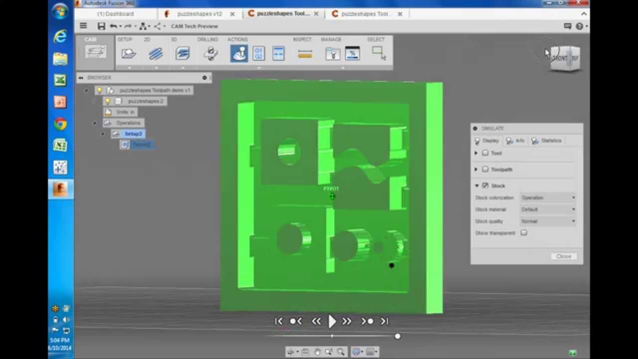 Shapeoko 2 Tutorial using Fusion 360 / CAM 360 by Autodesk