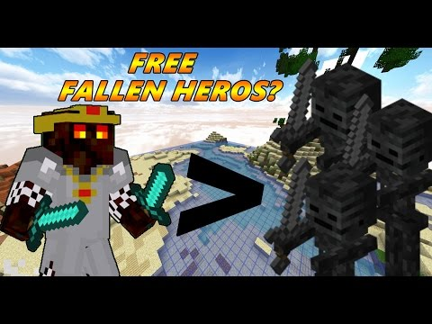 Free Fallen Heros??? - CosmicPvP Season 2 #3