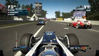 F1 2012 Gameplay da Demo Xbox 360