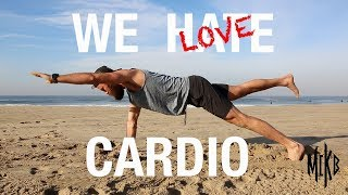 Strength and Cardio Beach Workout