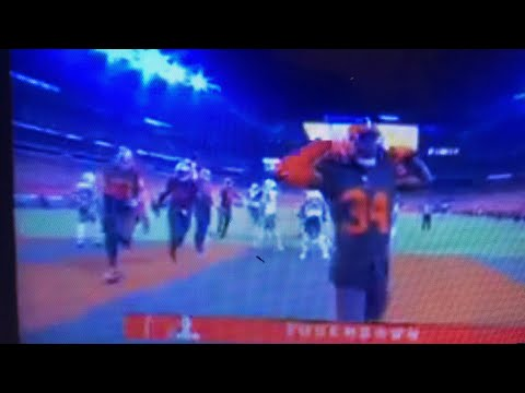 Carlos Hyde Scores Baker Mayfield Celebrates Browns 20 NY Jets 17 4th