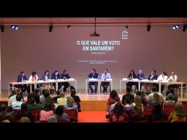 Debate Legislativas | 3ª parte