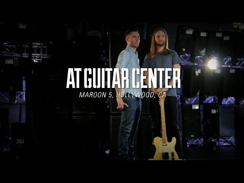 Maroon 5 At Guitar Center