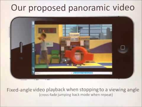 DIRECT MANIPULATION VIDEO NAVIGATION IN PANORAMIC VIDEO STYLE