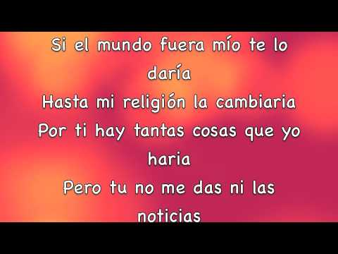 Prince Royce Darte Un Beso Lyrics Full