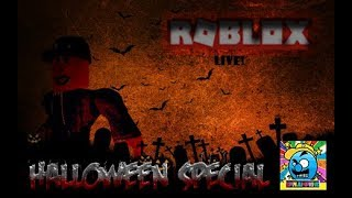 Roblox #36 | HALLOWEEN SPECIAL | LIVE | (sjk livestreams #227)