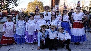 La comunidad paraguaya por primera vez de festejo en la Plaza Malvinas