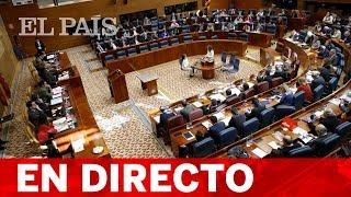 DIRECTO | Sesión constitutiva de la ASAMBLEA DE MADRID