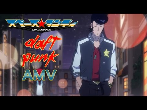 Space Dandy x Daft Punk [AMV] - Something About Us ⌠HD⌡