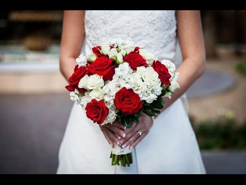 Red And White Wedding Bouquets For Colorful Wedding Ideas Youtube