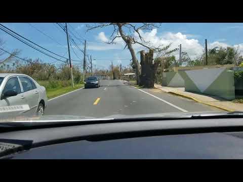 Hurricane María Damage in Loiza, Puerto Rico (Video 1) (Hurricane Maria Disaster Relief #PuertoRico)