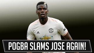 Pogba Slams Mourinho Tactics! Man Utd News