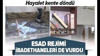 Esad Rejimi İbadethaneleri De Vurdu! İdlib'de Son Durum Ne? / A Haber