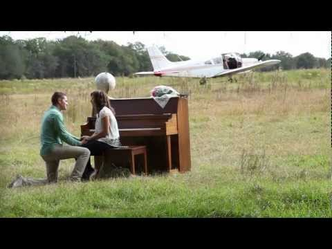 Best Marriage Proposal || Plane, Field, Piano
