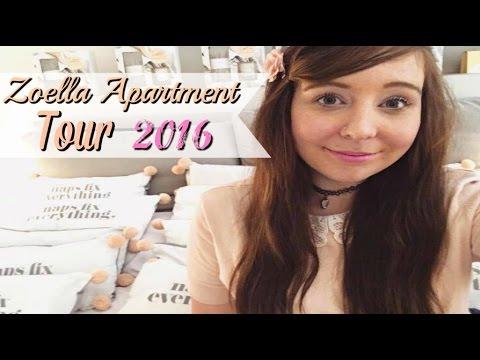 Zoella Apartment Tour | Zoey Glitter