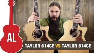 Taylor 614ce vs 814ce Comparison