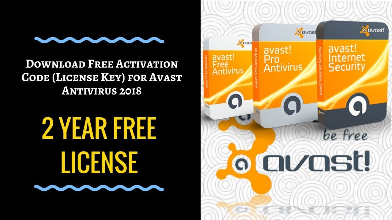 avast pro antivirus 2018 activation key
