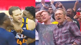 Rockets vs Jazz Wild End Of Final Minutes With Bojan Bogdanovic Game Winner! Rockets vs Jazz