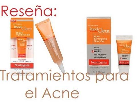 Acne de neutrogena manchas para crema