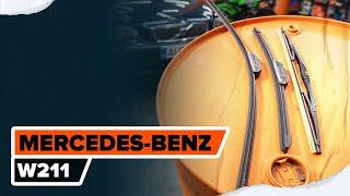 Reemplazar Kit amortiguadores MERCEDES-BENZ E-CLASS: manual de taller