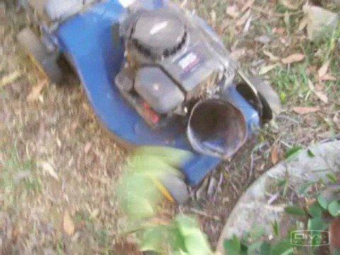 Modify a mower to be a garden mulcher YouTube