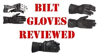 Cycle Gear Bilt Motorcycle Gloves Review