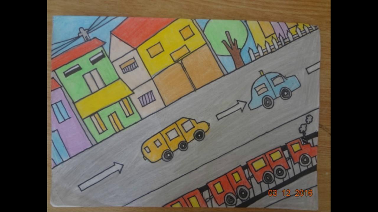 bài vẽ của học sinh trường THCS Kiêu Kỵ part 2