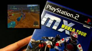MX World Tour - PS2/Playstation 2 Cover/Game
