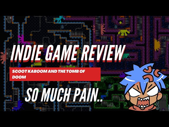 Indie Game Review: Scoot Kaboom and the Tomb of Doom